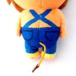 ぬいぐるみ製作事例:ライオレンジ15cm