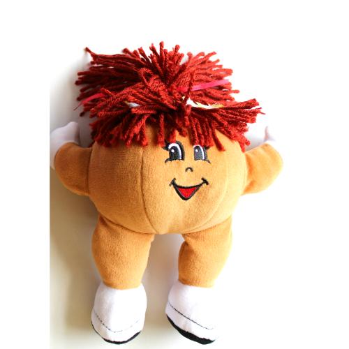 ハワイで大人気の定番スイーツ『レナーズのマラサダ』のマスコットキャラクターぬいぐるみ1