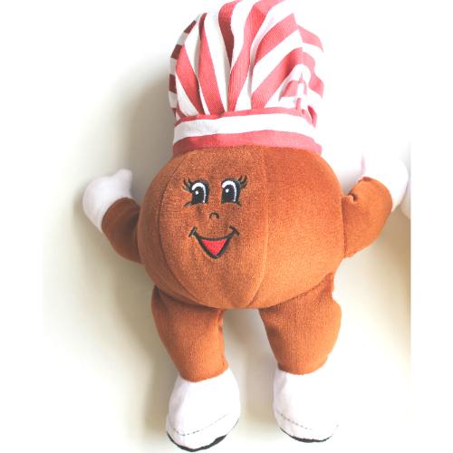 ハワイで大人気の定番スイーツ『レナーズのマラサダ』のマスコットキャラクターぬいぐるみ2