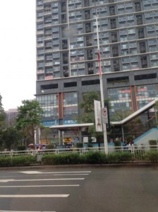 ぬいぐるみ工場の周辺都市「深圳」