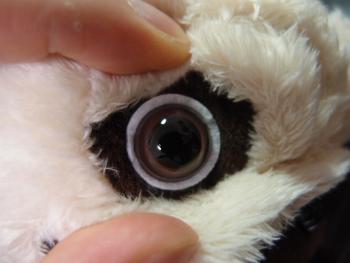 ぬいぐるみ制作時に使用する眼のパーツを紹介