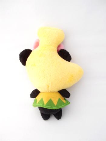 ぬいぐるみ製作事例:バナパンダ17cm