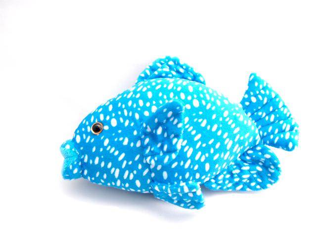 ぬいぐるみ製作事例:水族館Cオリジナルぬいぐるみ